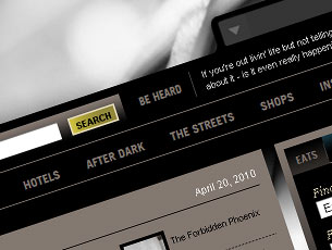Portal web development. Urban Pill is an online city guide. Find information about Culture, Events, Fashion, Dining, Concerts and  Clubs in your local community. more