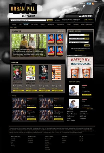 Urban Pill Homepage