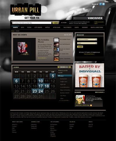 Urban Pill Search Results Page Webdevelopment